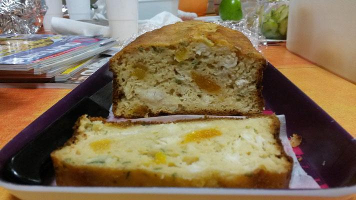 cake sucré-salé