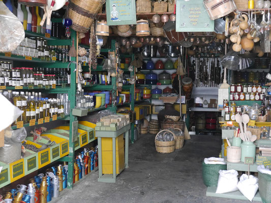the oldest shop in Naxos Chora