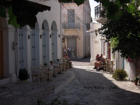 The former main capital of Naxos - Chalki