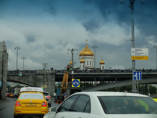 Цвет таксистов и куполов