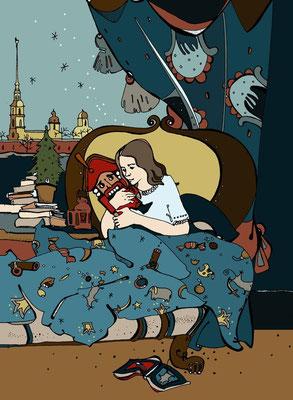 """Конкурс иллюстраций """"Щелкунчик и мышиный король"""" 12 победителей, в т.ч. Лида"""