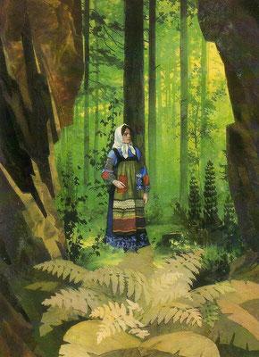 """""""Малахитовая шкатулка"""", иллюстрации В.М. Назарук"""