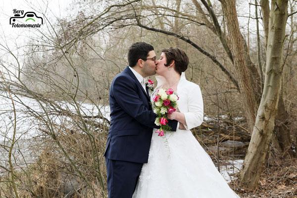 Berg-Fotomomente, Hochzeit, Wedding, Bautpaarshooting