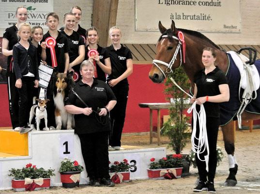 Juniorteam Mainz-Laubenheim ganz oben auf dem Treppchen