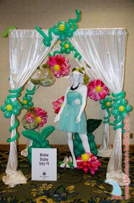 Platz 1: Lady im Blumengarten - Lee Cheng Feng, Taiwan