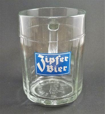 Brauerei Zipf, OÖ  (Glas von ca. 1960)