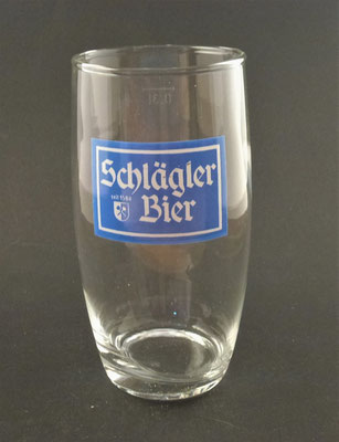 Klosterbrauerei Schlägl, OÖ  (Glas von ca. 1970)