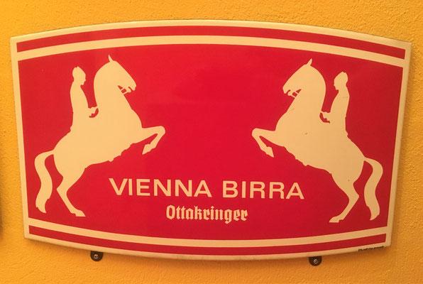 049 Brauerei Ottakring, Email, Abm. 50 cm x 32 cm, Impressum: Austria Email, ca. 1970