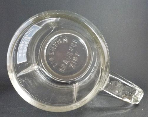 Brauerei Zipf, OÖ  (Glas von ca. 1970)