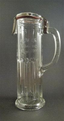 Biervertrieb Luger Export , KKAP - K & K ausschließendes Privilegium , Ottakring, Wien   (Glas von ca. 1880)