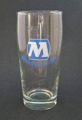 OE104, Brauerei Mundenham, Palting, Bezirk Braunau, OÖ, + 1982  (Glas von ca. 1980)