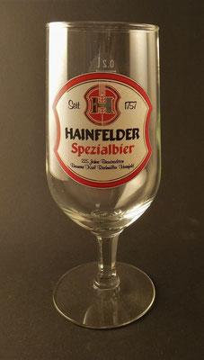 Hainfelder, NÖ  (Glas von ca. 1980)