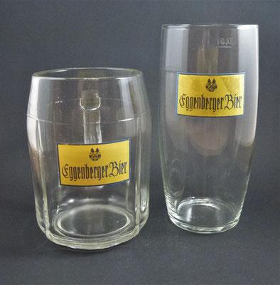 OE012, OE013, Brauerei Schloss Eggenberg, Vorchdorf, OÖ  (Glas von ca. 1950/1960)