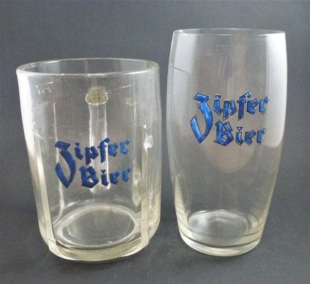 Brauerei Zipf, OÖ  (Glas von ca. 1930)