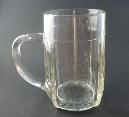 OE148, Privatbrauerei Vitzthum, Uttendorf, Bezirk Braunau, OÖ  (Glas von ca. 1950)