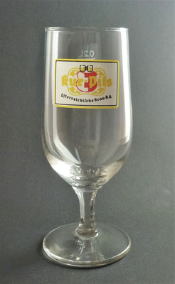 Hofbräu Kaltenhausen, Hallein, SBG, + 2011 (Glas von ca. 1980)