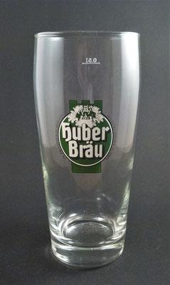 Huber Bräu , St. Johann in Tirol (Glas von ca. 1980)