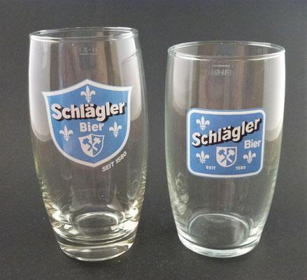 Klosterbrauerei Schlägl, OÖ  (Glas von ca. 1960)