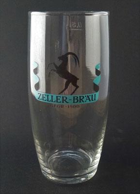 Zellerbräu, Zell am Ziller, Tirol (Glas von ca. 1960)