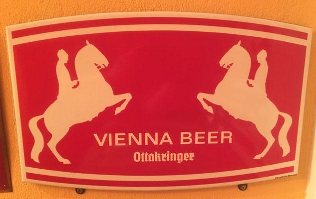 073 Brauerei Ottakring, Email, Abm. 50 cm x 32 cm, Impressum: Austria Email, ca. 1970