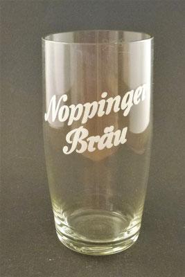 Noppinger Bräu, Oberndorf, SBG, + 1985 (Glas von ca. 1940)