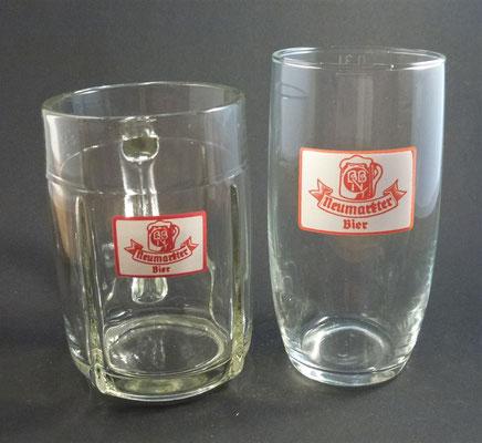 OE090, OE091,Neumarkt, Bezirk Grieskirchen, OÖ  (Glas von ca. 1950/1960)