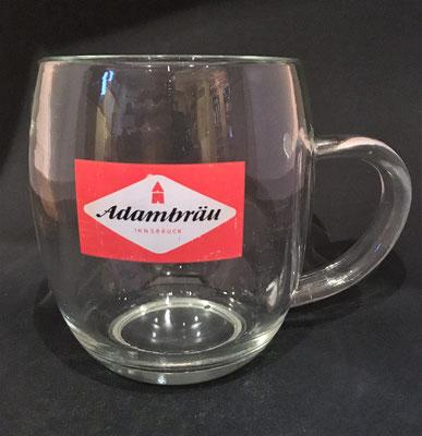 Adambräu Innsbruck, Tirol, + 1995 (Glas von ca. 1950)