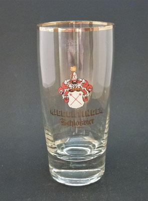 OE117, Schlossbrauerei Riegerting, Mehrnbach, Bezirk Ried, OÖ, + 1985  (Glas von ca. 1960)