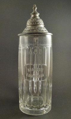 Brauerei Lichtenegg bei Wels, OÖ, + 1922  (Glas von ca. 1900)