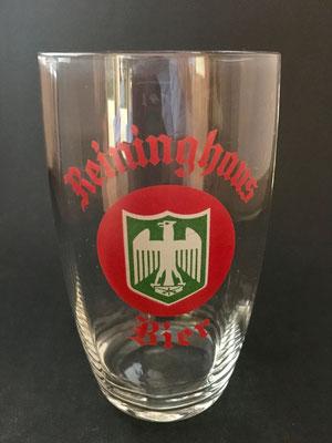 Reininghaus, Graz (Glas von ca.1940) , geeicht mit 1/4 L und 1/8 L