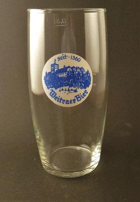 Weitraer Bier, NÖ  (Glas von ca. 1960)