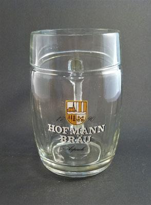 OE003, Brauerei Aspach, Bezirk Braunau, OÖ  (Glas von ca. 1970)