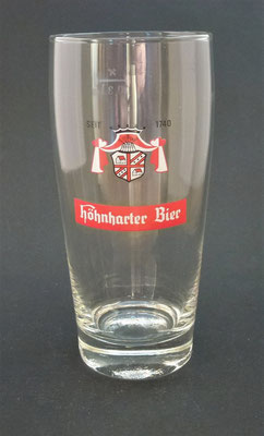 Brauerei Höhnhart, Bezirk Braunau, OÖ + 1983  (Glas von ca. 1970)