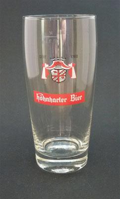 OE042, Brauerei Höhnhart, Bezirk Braunau, OÖ + 1983  (Glas von ca. 1970)