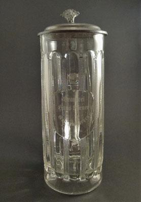 OE026, Brauerei Riener, Gallneukirchen, Linz Urfahr-Umgebung, OÖ,  + 1905   (Glas von ca. 1900)