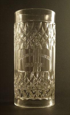 Gasthof und Brauerei Nagele, Völkermarkt, KTN, + 1923 (Glas von ca. 1900)