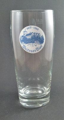 Weitraer Bier, NÖ  (Glas von ca. 1980)