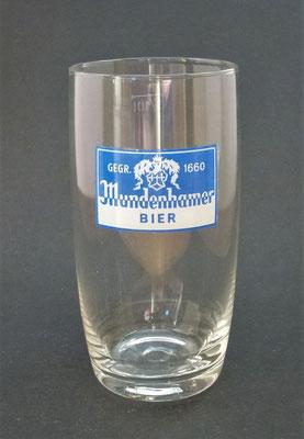 Brauerei Mundenham, Palting, Bezirk Braunau, OÖ, + 1982  (Glas von ca. 1970)