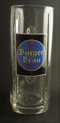 Bürgerliches Brauhaus Innsbruck / Tirol,  + 1929 (Glas von ca. 1930)