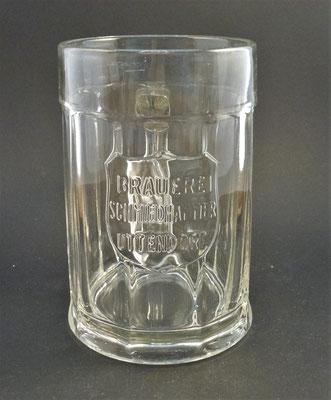 Brauerei Schmidhammer, Uttendorf, Bezirk Braunau, OÖ, + 1968  (Glas von ca. 1930)