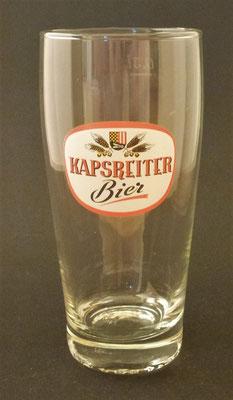 Brauerei Kapsreiter, Schärding, OÖ + 2012  (Glas von ca. 1960)