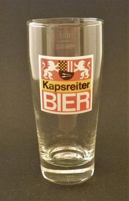 Brauerei Kapsreiter, Schärding, OÖ + 2012  (Glas von ca. 1975)