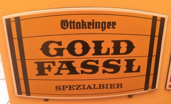 046 Brauerei Ottakring, Email, Abm. 32 cm x 50 cm, Impressum: Austria Email, ca. 1970