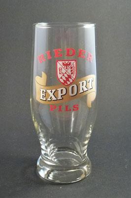 Brauerei Ried, OÖ  (Glas von ca. 1980)