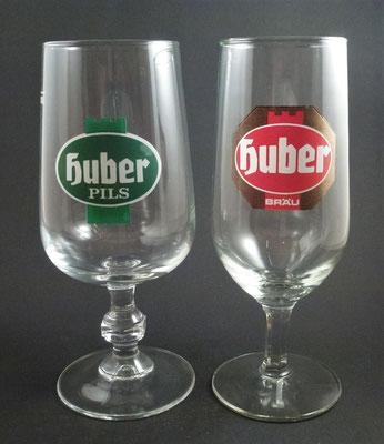 Huber Bräu , St. Johann in Tirol (Glas von ca. 1970)