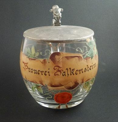 Falkenstein, Gösser , Lienz, Osttirol (Glas von ca. 1900)