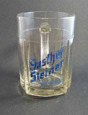 Brauerei Schnaitl, Eggelsberg, Bezirk Braunau, OÖ  (Glas von ca. 1930)