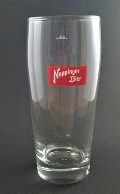 Noppinger Bräu, Oberndorf, SBG, + 1985 (Glas von ca. 1970)