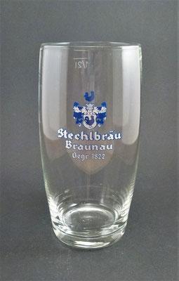 Stechl-Bräu, Braunau, OÖ, + 1979  (Glas von ca. 1950)