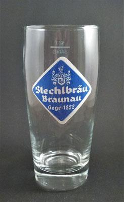 OE140, Stechl-Bräu, Braunau, OÖ, + 1979  (Glas von ca. 1960)